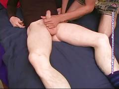 Naughty twink versus horny daddy's cock