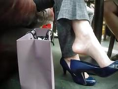 Hidden camera shoeplay
