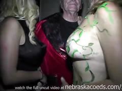 Freaky fantasy fest 2013 street videos of girls flashing and naked in public