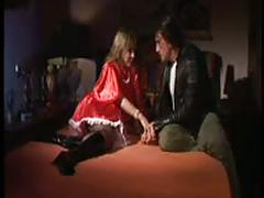 Blonde veronica belli black stockings sex 3