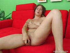Kaycee dean's red vibrator stuffing