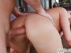 anal, cumshot, hardcore, european, brunette, swallow, deepthroat, ass-to-mouth, euro, anal-sex, ass-fuck