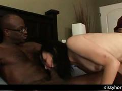Cuckold humiliation interracial sissy orgy wife big cock milf slut sissyhorns.com