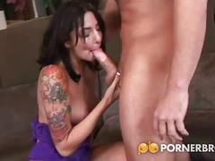 Horny milf gets fucked in her tight ass.