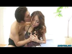 Hot lingerie sara seori gets squeezed her tits