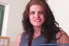 Hot nylon panty babe teases mercilessly