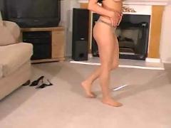 Aubrey in pantyhose - part ii