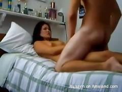 amateur, asian, cumshot, brunette, cum on tits, petite, small tits