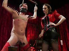 Chanel likes to punish her sex slaves
