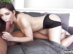 Abella is craving some sweet black cock