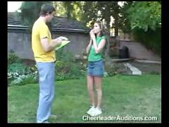 Girl gets banged after audition