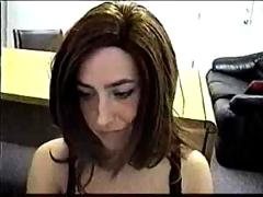 Taylor hot brunette office anal