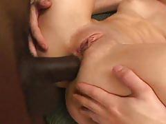 hardcore, anal, blowjob, tube8.com, threesome, mff, bbc, brunette, cum in mouth, doggystyle, cum swapping, interracial, deepthroat, perky tits, anal fucking