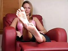 babes, blondes, femdom, foot fetish