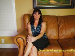 Brand new amateurs milf mckayla auditions during lunch.