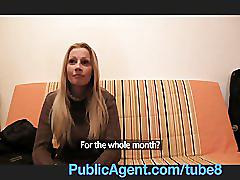 Publicagent lucie has huge boobs that i want to fuck