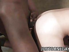hardcore, blowjob, justgonegay.com, interracial, black on white, dilf, daddy, black cock, oral sex, cock sucking, anal sex, ass fuck, doggy style, rough sex, white ass, tyres