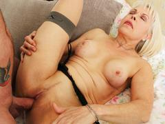 cumshot, granny, hardcore, blowjob, european, mature, stockings, old and young
