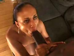 Mya gee. sucking a huge cock