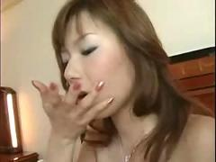 stockings, cumshot, facial, hardcore, blowjob, trimmed, smalltits, asian, pussyfucking