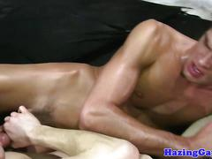 Cocksucking twink sixtynining and analfucking