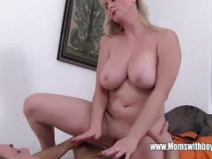 Sexually punished by my stepmom for being lazy