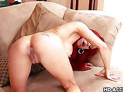 Redhead shannon kelly likes them big and black!