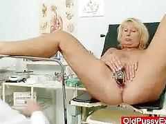 blonde, fetish, amateur, milf, mature, lesbian, mom, granny, grandba, cougar, mother, kinky, oldpussyexam
