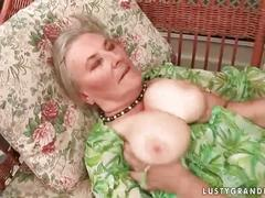 Very old busty granny getting fucked hard