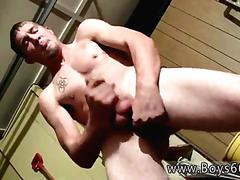 Red haired twinks jacking and cuming cowboys ty  lee pissing up the garage