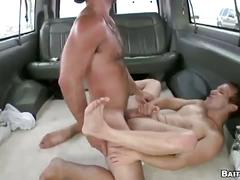 Straight guy gets on the bait bus and gets asshole fucked