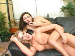 Roxy jezel & daryn darby blow one cock