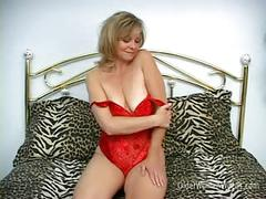 Cute blonde milf katie