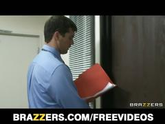 Brazzers - sexy blonde student dylan riley seduces her dean