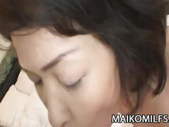 Yukie matsui spreads her legs for toys and cock