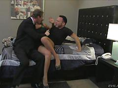 Richelle sucks her man @ mean cuckold #06
