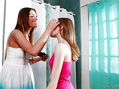 young, lesbians, undressing, web young, aubrey star, august ames