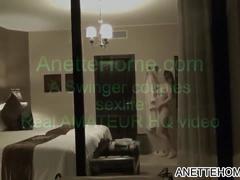 Amatrice exhibe pour voyeur francais avec webcam 24h