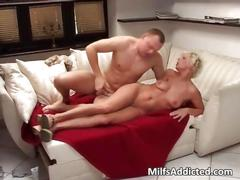 European blonde milf sex tape where her