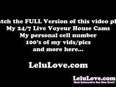 Lelu love-broken condom tip teasing creampie