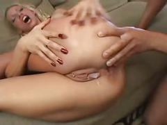 Big titty blonde bimbo bitch takes some dp & dvp! by: ftw88