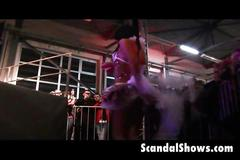 Live sex show footage