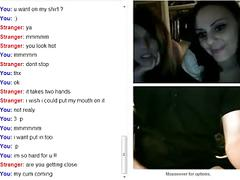 2 cutes girls show tits & ass on omegle