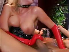 Dementia 1 - blonde mistress fucked by two guys