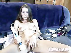 Lelu love-first vna webcam show