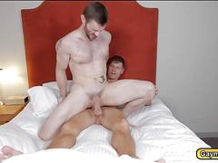 Dennis and peter swapping dicks and anal