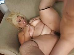 Blond bbw monique get her ass fucked