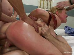 anal, bdsm, torture, gangbang, double penetration, blonde milf, cock sucking, big breasts, nipple pumps, hardcore gangbang, kink, john strong, dane cross, darling, karlo karrera, jay smooth, gage sin
