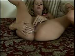 2 horny hotties masturbating with their toys