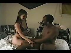 Her black lovers cum in all sizes